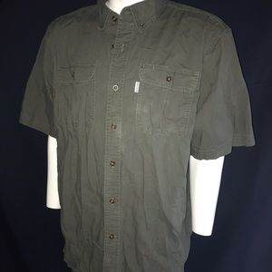 Carhartt Short Sleeve Shirt Button Up